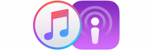 itunes and podcast app